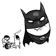 animated artist:chimeracorp batman lego streamer:darren // 500x500 // 16.6KB