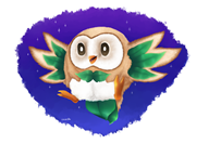 artist:leuosto game:pokemon game:pokemon_sun_and_moon rowlet streamer:vinny vinesauce // 1986x1383 // 1.2MB