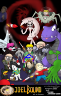 artist:thatguy2 duane game:bbq_quest game:earthbound game:mother2 game:undertale giygas kurt pokey starman streamer:joel temmie // 1336x2116 // 1.8MB