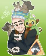 artist:dormzy game:pokemon_sword_&_shield grookey skwovet streamer:joel zigzagoon // 1500x1800 // 1.4MB