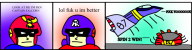 artist:smedis2 blood_falcon captain_falcon comic game:f-zero_x streamer:joel // 764x202 // 97.8KB