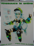 artist:coldlord pen robot stream streamer:vinny traditional_media waifu // 1119x1500 // 2.2MB