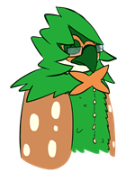 artist:unclear decidueye game:pokemon streamer:fred streamer:hootey // 868x1183 // 145.4KB