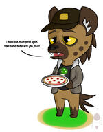 artist:Brother_Orin game:animal_crossing hyena pizza streamer:vinny // 1416x1814 // 316.4KB