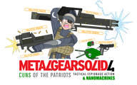artist:go-go-galajo cheap_cuns game:metal_gear_solid_4 old_snake otacon streamer:vinny // 2400x1506 // 1.0MB