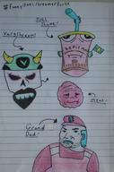 aqua_teen_hunger_force artist:grr_im_here grand_dad meat paper_drawing streamer:joel vargshroom // 1434x2168 // 591.2KB