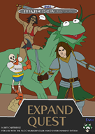 axe brown_hair dragon el_serpento game:dark_souls game:golden_axe kermit mega_drive memes papyrus parody streamer:joel succ // 718x1008 // 422.8KB