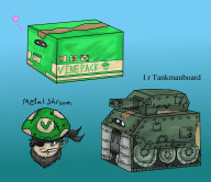 box game:metal_gear_solid_peace_walker love streamer:vinny vinesauce // 2300x2000 // 485.1KB