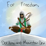 america artist:americayeaaaahhhhh assassin's_creed doritos mountain_dew streamer:fred // 660x660 // 298.1KB