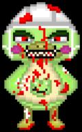 artist:nothingbutsauce game:animal_crossing game:resident_evil_2 scoot streamer:vinny zombie // 380x610 // 20.0KB