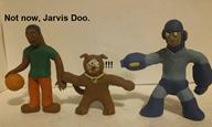 artist:smash3dsplayer2 clay dog monster scooby-doo streamer:joel // 778x469 // 102.5KB