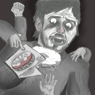 artist:defridgerator blood_bagel red_vox spooky streamer:vinny // 800x800 // 640.7KB