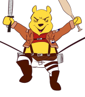 artist:fora attack_on_titan charity_stream game:winnie_the_pooh's_home_run_derby streamer:revscarecrow // 1400x1600 // 379.2KB