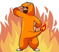 animated artist:medamaudee charmander game:star_wars kinect streamer:fred // 1458x1291 // 674.6KB