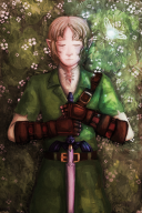 artist:butternutsquash dead flowers link master_sword navi ocarina_of_time streamer:vinny // 1000x1500 // 2.5MB