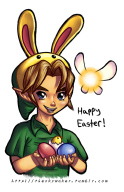 artist:nasnumbers easter game:majora's_mask_3d legend_of_zelda link majoras_mask streamer:vinny // 663x1024 // 540.8KB