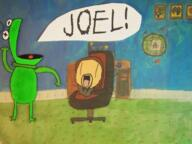 animated artist:theautisticmaniac bonzi_buddy cel_animated computer cute hand_drawn kermit meme pepsi streamer:joel // 1200x900 // 2.3MB