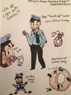 Characters:officer_vinny Game:miitopia_when_vinny_talks_about_donuts artist:leesie streamer:vinny // 1830x2448 // 678.7KB
