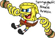 artist:PalkiaDS game:Spongebob:_Creature_from_the_Krusty_Krab game:arms spongebob streamer:vinny // 500x351 // 85.8KB