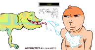 artist:samuraitastic game_and_wario lizard streamer:vinny // 942x500 // 50.6KB