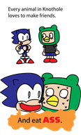 animal_crossing animal_crossing_new_leaf game:animal_crossing_new_leaf sonic sonic_the_hedgehog streamer:imakuni streamer:vinny vinesauce // 1341x2212 // 193.9KB