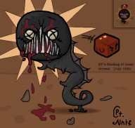 artist:captainnnif blood game:the_binding_of_isaac isaac streamer:ky the_binding_of_isaac // 487x464 // 54.4KB
