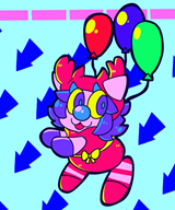artist:cinnapepper balloon game:action_52 streamer:vinny // 500x600 // 116.3KB