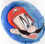 artist:Wool game:super_mario_64 mario streamer:vinny // 1044x1026 // 312.6KB