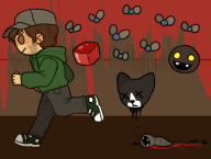 artist:mosse binding_of_isaac_rebirth streamer:vinny vinesauce // 530x402 // 107.8KB