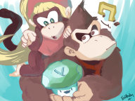 dixie_kong donkey_kong game:donkey_kong_country_tropical_freeze vineshroom // 1200x900 // 633.3KB