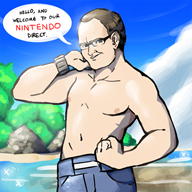 artist:noahpatchi beach bill_trinen game:pokemon nintendo_direct streamer:vinny vinesauce // 900x900 // 2.3MB