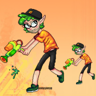 artist:kangaroo game:splatoon streamer:vinny // 500x500 // 143.7KB
