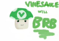 artist:kenjimobile brb vineshroom // 842x595 // 293.8KB