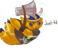 artist:unclear joltik pokemon streamer:joel // 1069x910 // 514.3KB