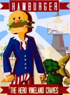 banana broccoli game:tomodachi_life hamburger propaganda streamer:vinny vineswole // 750x1008 // 510.7KB