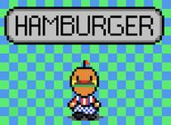 animated artist:glowinthedarkinc game:earthbound game:tomodachi_life hamburger pixel_art streamer:vinny // 684x504 // 31.0KB