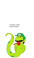 artist:lamango game:game_and_wario luigi streamer:vinny vinesauce // 512x869 // 14.4KB