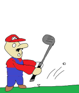 artist:buttsmachine mario mario_golf ms_paint streamer:vinny // 842x996 // 37.7KB