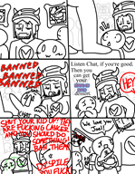 chat comic game:harvester streamer:joel // 1234x1587 // 816.7KB