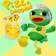 artist:opzsigma game:animal_crossing_new_horizons pizza scoot smoothie streamer:vinny // 1350x1350 // 2.4MB