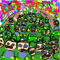 4th_anniversary game:mario_kart_7 luigi streamer:vinny // 503x505 // 267.0KB