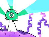 artist:bluntbows colorful vineshroom // 800x600 // 98.3KB