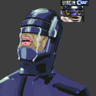 artist:e404 bootleg commodore_64 game:Robocop robocop streamer:joel vinesauce // 800x800 // 198.0KB