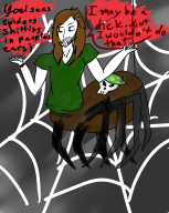 artist:catriona game:cubivore spider streamer:joel // 1600x2000 // 1.1MB