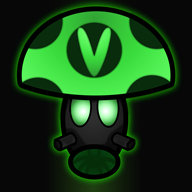 artist:maffia7 darkshroom nightshroom streamer:revscarecrow vineshroom // 2000x2000 // 3.0MB