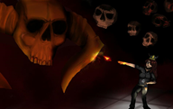 game:devil_daggers skeleton streamer:joel // 950x600 // 34.8KB