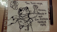 artist:theyoshinoya frog game:chrono_trigger sketch vineshroom // 1024x576 // 102.2KB