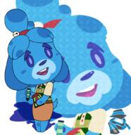 artist:theoctoberscarf blue's_clues isabelle streamer:vinny // 1000x1032 // 760.5KB