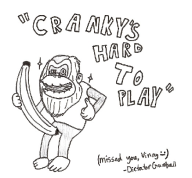 banana cranky_kong game:donkey_kong_country_tropical_freeze streamer:vinny // 523x485 // 77.7KB