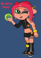 Agent_8 artist:gameboy3ds game:splatoon_2 streamer:vinny // 972x1376 // 52.8KB